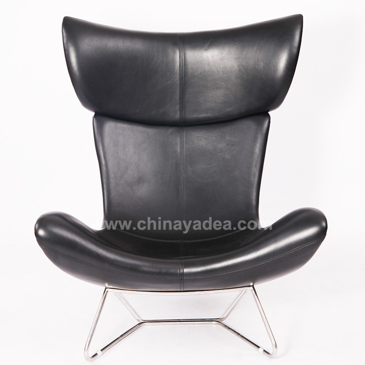 2017 New Style Wholesale Imola BoConcept Lounge Chair in Leather