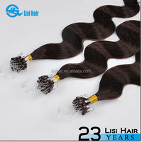 Hot New Design Good Feedback Top Quality Keratin Glue No Shedding No Tangle Human remy virgin 22 inch micro braiding hair