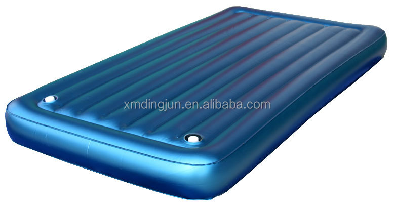 Pvc Inflatable Air Bed With Sturdy Vinyl I Beam