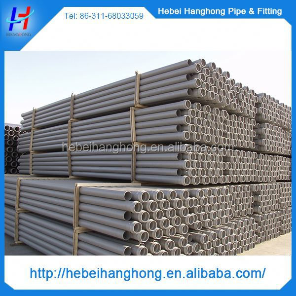 Trade Assurance Supplier 125mm pvc pipe