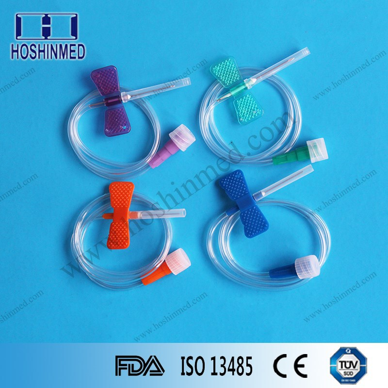 Disposable sterile 16g safety AV fistula needle manufacturer