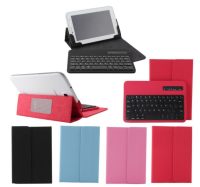 Fanshion Universal 7'' inch 10inch Tablet Removable Bluetooth Keyboard Leather Case Cover