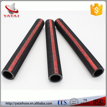 High Pressure Heat Resistant Steel Wire Fuel Oil Rubber Hose Pipe