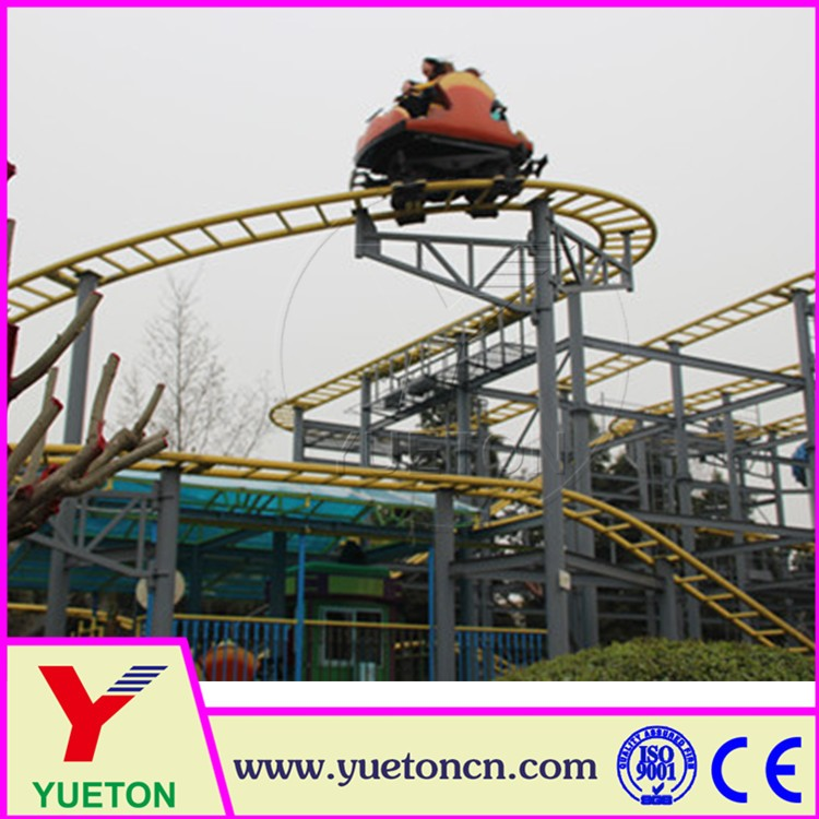 Thrilling Huge Amsuements Equipment Rides Spinning Roller Coaster