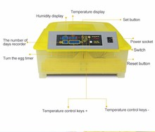 HHD Factory Supply small 48 automatic chicken egg incubators CE approved egg hatcher