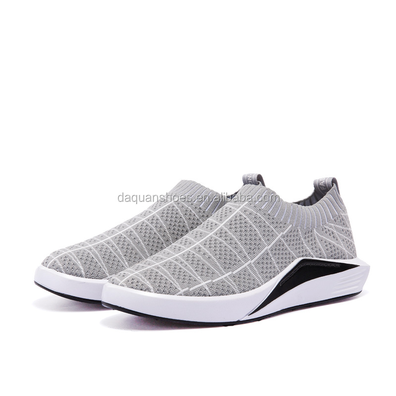 2017 New Brand Stylish fly knit Breathable sneakers sports shoes casual sneakers men