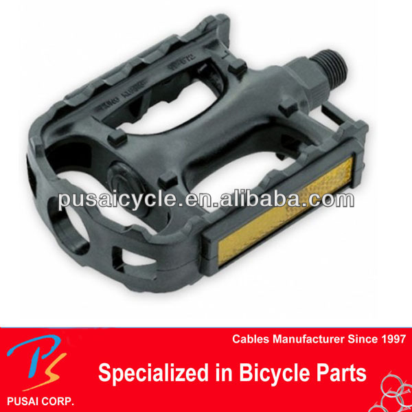 "Durable plastic Standard 1/2"" bicycle pedal"
