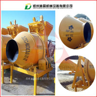 Mobile concrete mixer with pump/concrete mixer machine with lift