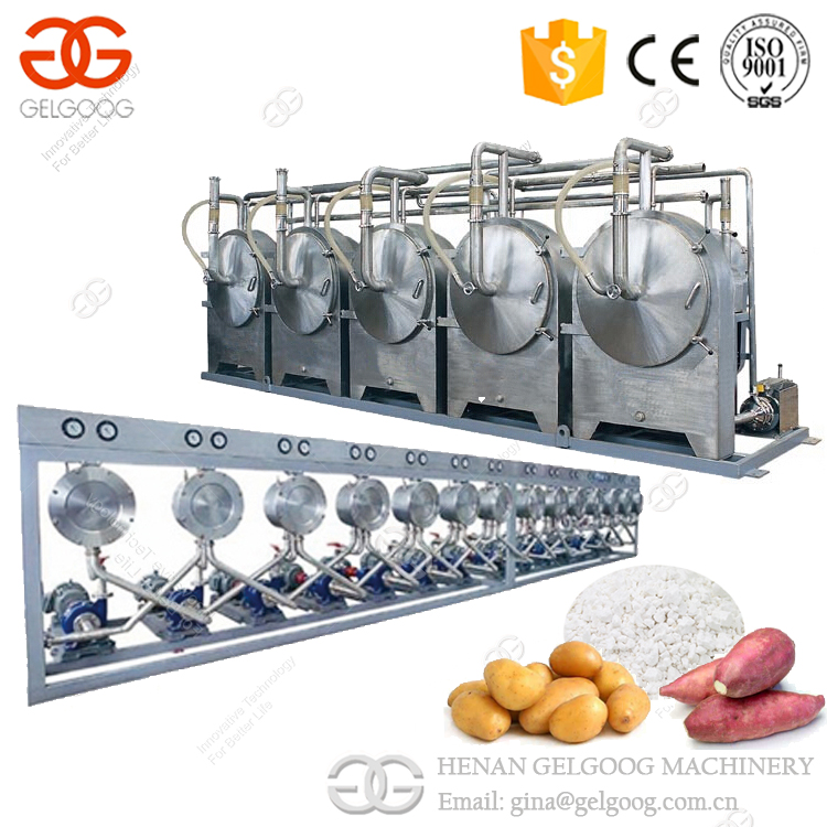 2017 Small Scale Industrial Tapioca Cassava Starch Production Machine Manioc Starch Processing Machine For Sale