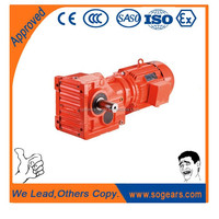 Energy saving multiple spline shaft geared motor 1hp brands