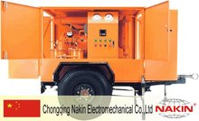 ZYM trailer type vacuum insulating oil purifier/transformer oil purification/oil filter