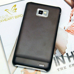 2013 New cell phone unique design heat dissipation fashion cool black back cover case for samsung galaxy s2 i9100