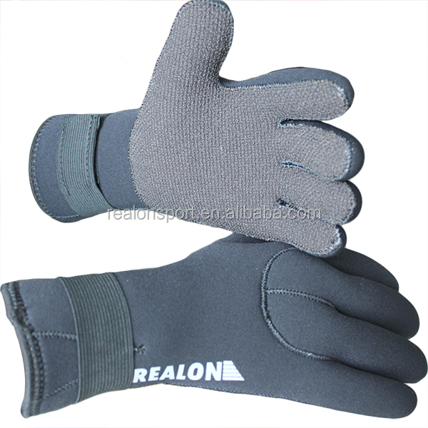 Factory Supply 5mm Kevlar Neoprene SCUBA DIve Gloves