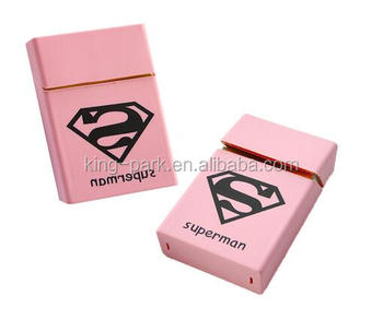 cigarette pack cover smoking supper pink cigarette case for women
