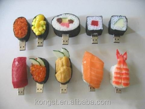 Made in China foods shape usb, food shape PVC / Silicon / Rubber USB Flash Drive