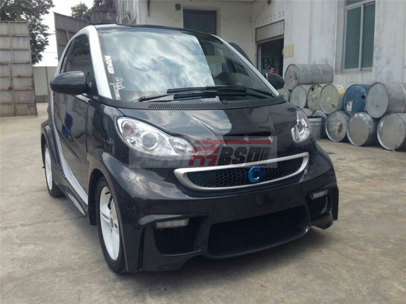 Full body kit Auto parts for 2008-2014 Benz smart BSM style body kit