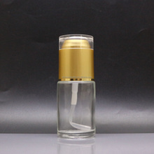 make Up And Concealer Glass Lotion Bottle With Mirror PB-16D