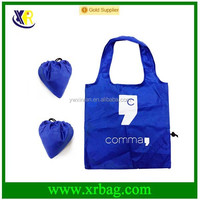 promotional shape polyester foldable shopping bag in bag