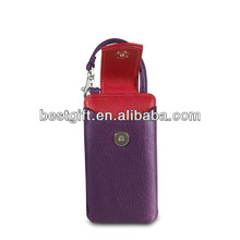 mobile phone leather keyboard case with strap