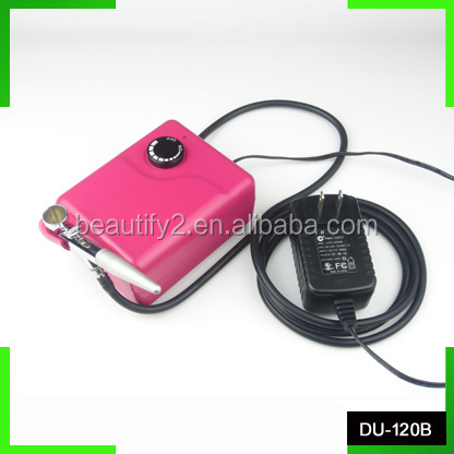 DU-120B full face airbrush makeup machine best model