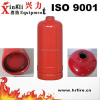 5kg portable dry chemical powder fire extinguisher bottle with foot ring from China