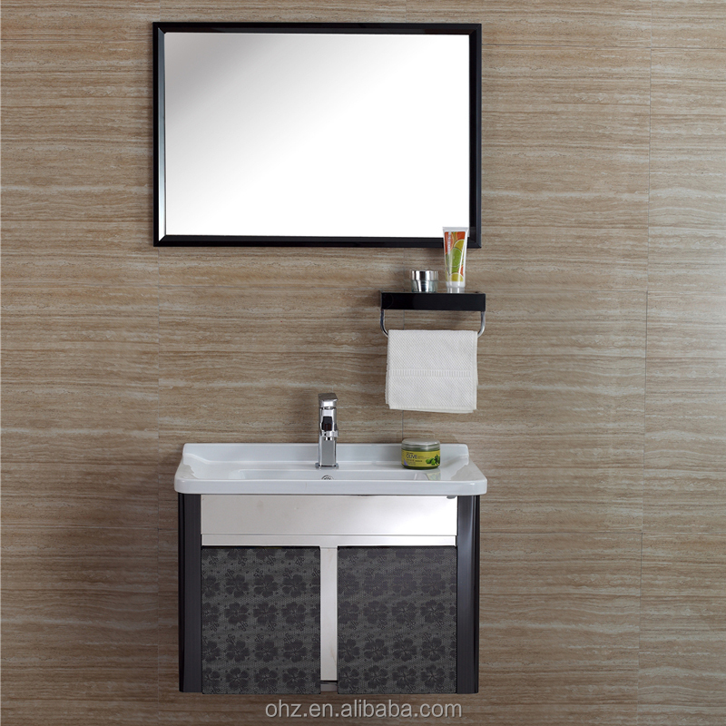 High End Market Single Sink Used Bathroom Vanity Cabinets With Mirror Buy Lowes Bathroom Sink