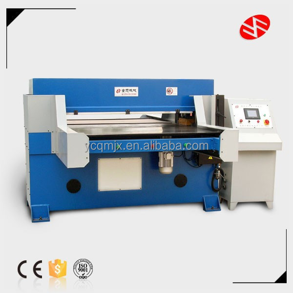 100T CE double-side Automatic Feeding Cloth cutting press Machine