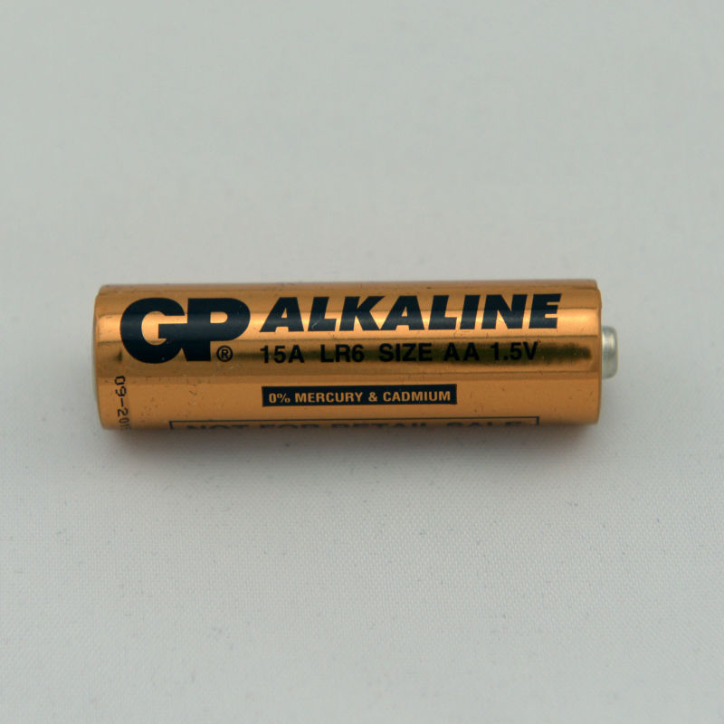 GP AA alkaline battery