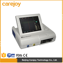 High quality Portable Fetal Monitor Cardiac Monitoring Equipment with color LCD display rotate screen