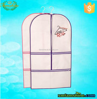 promtional cheap nonwoven garment bag with pockets