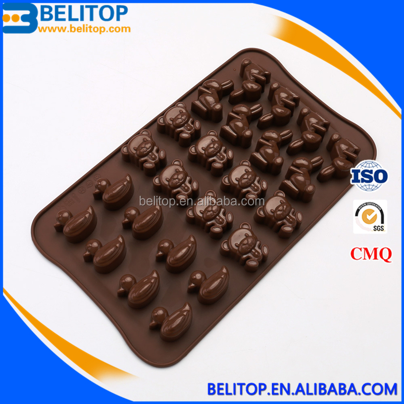 Bear Bakeware Tools DIY Silicone Chocolate Mousse Cake Mold