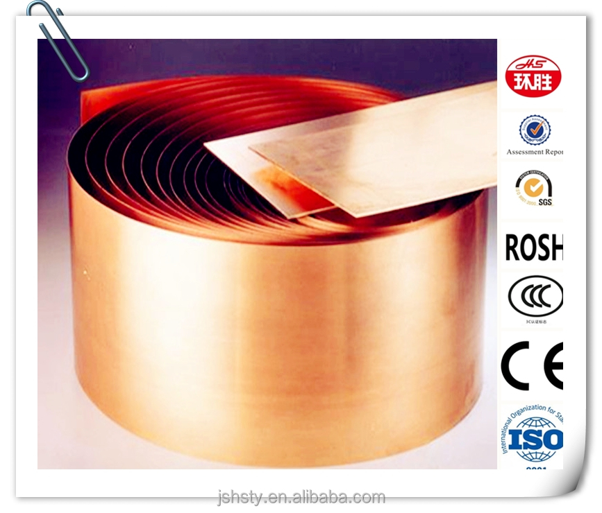 hot sale earthing pure copper tape