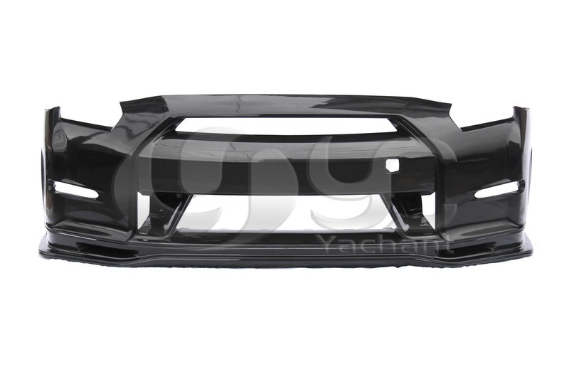 Trade Assurance Portion Carbon Fiber Bodykits Fit For 2008-2015 R35 GTR N TUNE Style Body Kit Bumper Lip Side Skirts