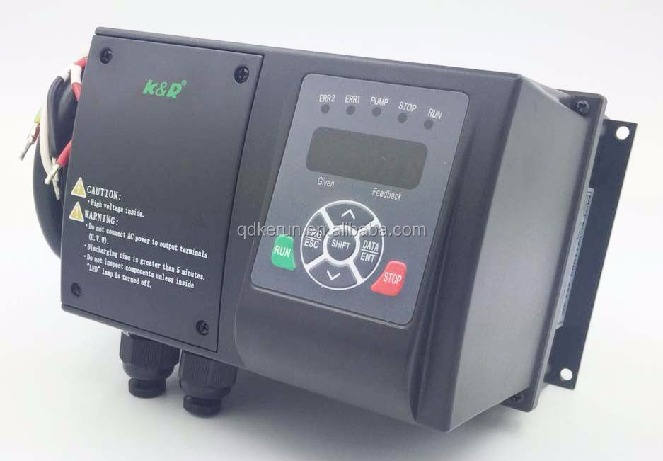 Water pump variable speed controller three phase 3.0kw frequency inverter 50hz to 60hz