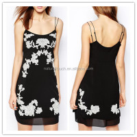 2015 New latest casual sexy ladies short cocktail dress on china alibaba (LY0359)