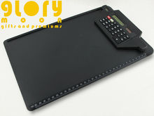 DUAL POWER 8 DIGIT CALCULATOR CLIPBOARD WITH RULER