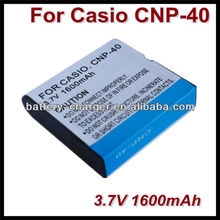 CNP40 Compatible 3.7V 1230mAh Replacement Battery Pack for Casio Z5/Z30/EXP600