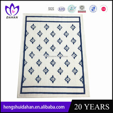 plain dyed cotton fabric custom silk screen printed tea towel hotel kitchen towel home textile China supplier wholesaler