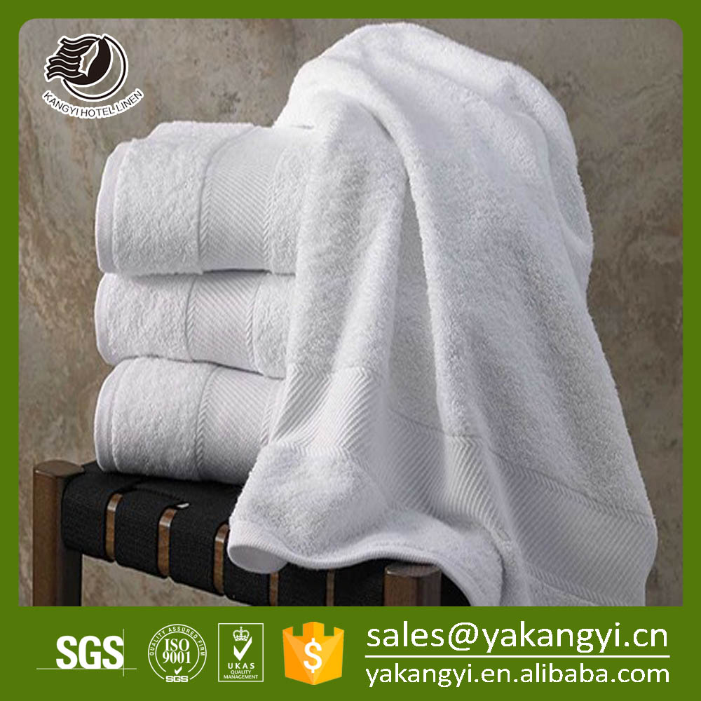 Luxury High Quality 32S White Hand Towel 100% <strong>Cotton</strong>