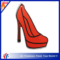 High-heeled shoes shape sexy car air freshener, hand made feu orange car air freshener