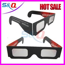 Paper refraction depth photoseparation 3d glasses
