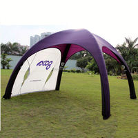 Custom design trade show gazebo tent oem design inflatable camping tent for event advertising