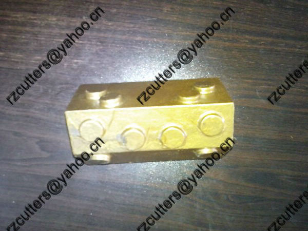 foundation weldding -bar BA04/tungsten carbide cutter teeth /foundation drill weld on teeth