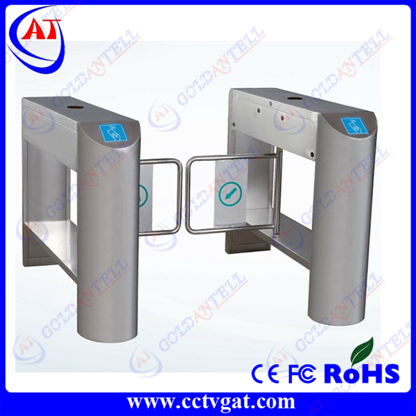 Trade assurance swing turnstile,swing turnstile gate Web Based Fingerprint Access control