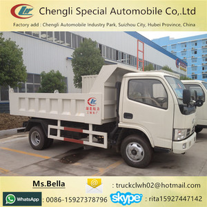 Cheap China Brand New 6 Wheel Tipper 3 ton Dump Trucks for sale