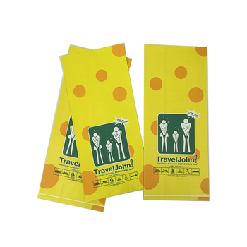 Back Sealed Clean Air sickness Paper Bag with Custom Printing Design for Waste or Vomit