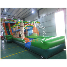 2016 giant coconut tree inflatable water slide for adult and kids with whole sale price