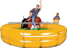 inflatable mechanical bull rodeo bull manufacturer A6039