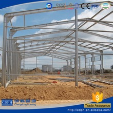 China cheap light steel prefab ware house