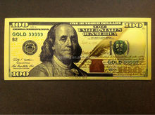 Dollor 100 golden banknote with nice color selling in cheaper price
